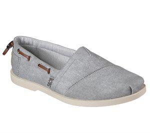 Gray Skechers BOBS Chill Luxe