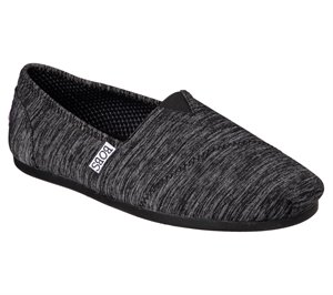Black Skechers Bobs Plush - Express Yourself