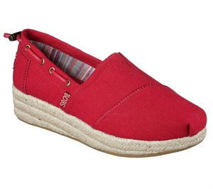 Red Skechers BOBS Highlights - Set Sail