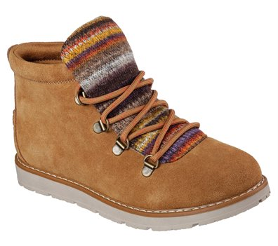 Brown Skechers Bobs Alpine - Smores
