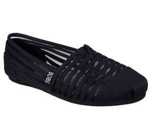 Black Skechers Bobs Plush - Adorbs