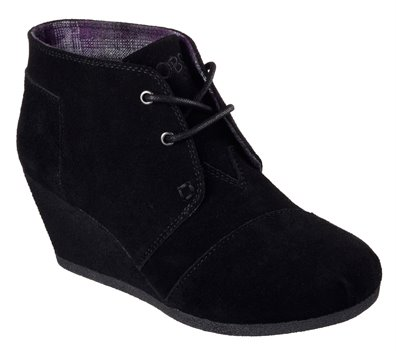 Skechers Bobs High Notes Behold in Black Skechers Womens
