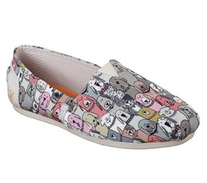Multi Natural Skechers Bobs Plush - Wag Party