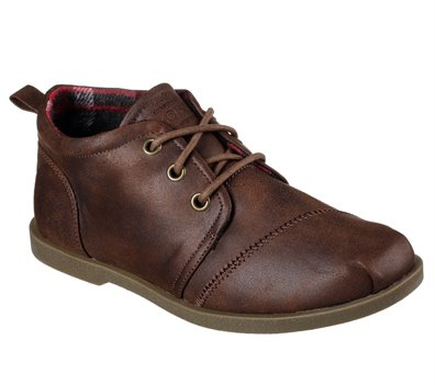 BROWN Skechers Bobs Chill Luxe