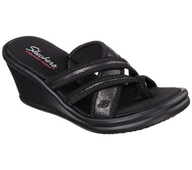 Black Skechers Rumblers - Happy Dayz - FINAL SALE