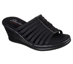 Black Skechers Rumblers - Hotshot