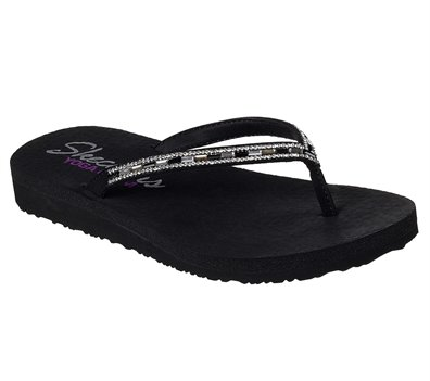 Black Black Skechers Meditation - Desert Princess