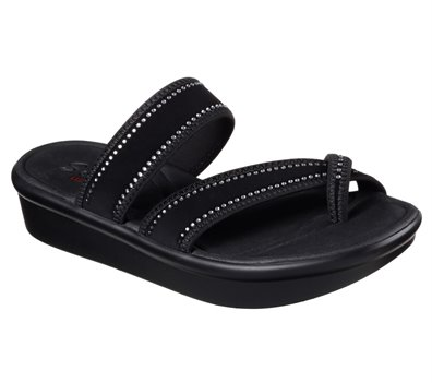 Black Skechers Bumblers - Steady Rock