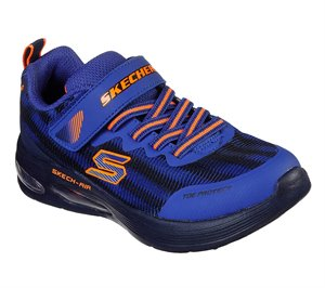 Orange Blue Skechers Skech-Air Dual - FINAL SALE