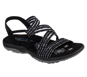Black Skechers Reggae Slim - Stretch Appeal