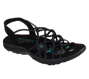 Black Skechers Reggae Slim - Forget Me Knot