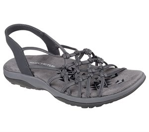 Gray Skechers Reggae Slim - Forget Me Knot