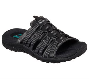 Black Skechers Reggae - Repetition