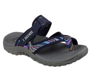 Navy Skechers Reggae - Sparkle Swag