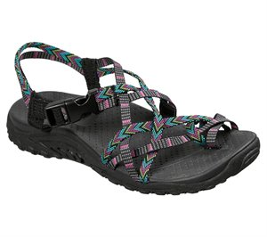 MULTIBLACK Skechers Reggae - Islander - FINAL SALE
