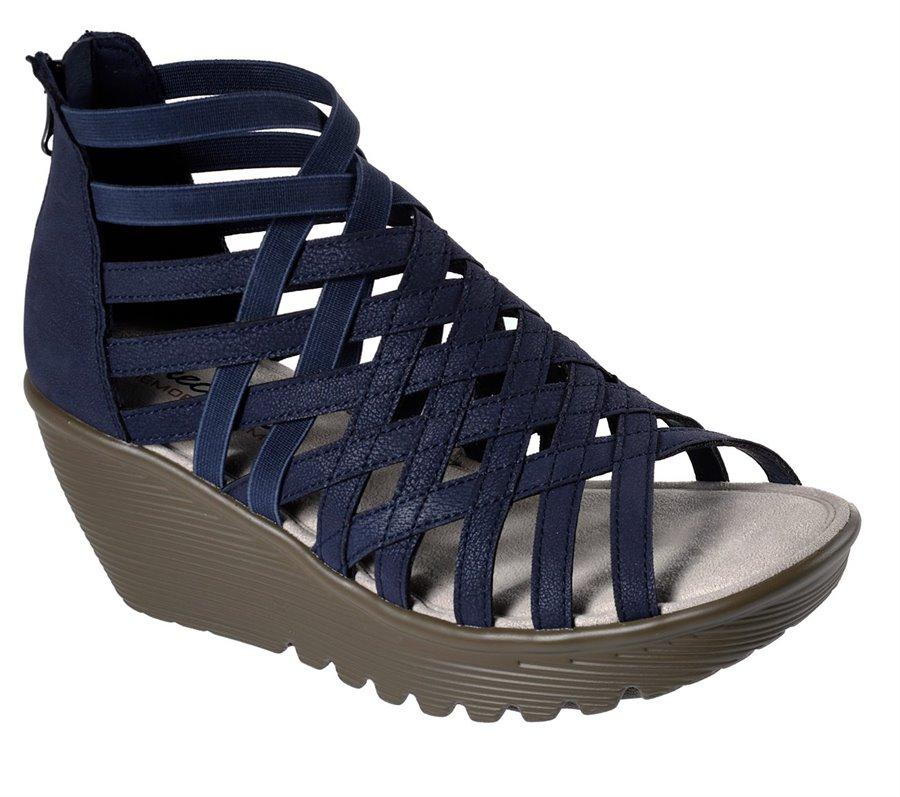 b5955edf02 Skechers Parallel - Dream Queen in Navy - Skechers Womens Sandals on ...