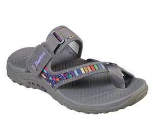 Gray Skechers Reggae - Mad Swag