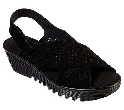 Black Skechers Petite Parallel - Plot