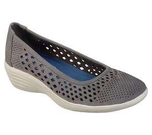 Gray Skechers Kiss - Shifty