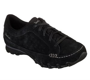 Black Skechers Relaxed Fit: Bikers - Contained