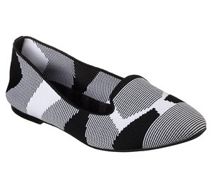 White Black Skechers Cleo - Sherlock