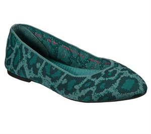 GREEN Skechers Cleo - Claw-Some