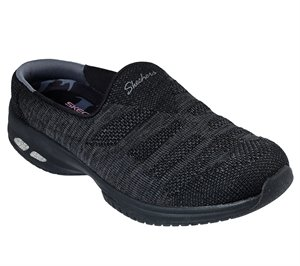 Black Skechers Relaxed Fit: Commute Time - Knitastic