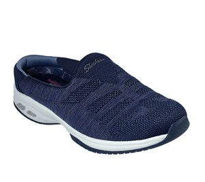 Gray Navy Skechers Relaxed Fit: Commute Time - Knitastic
