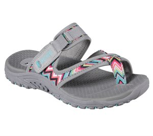 GRAY Multi Skechers Reggae - Zig Swag