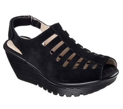 BLACK Skechers Parallel - Trapezoid