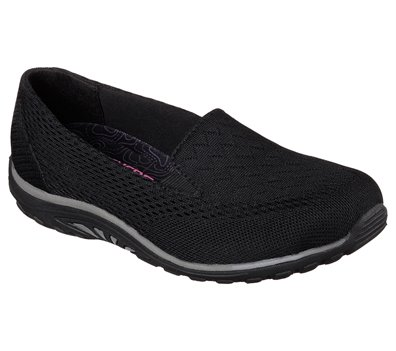 Black Skechers Relaxed Fit: Reggae Fest - Willows