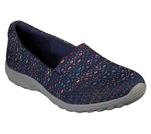 Navy Skechers Relaxed Fit: Reggae Fest - Wicker