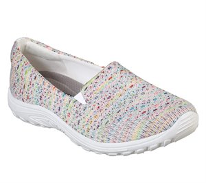 White Skechers Relaxed Fit: Reggae Fest - Wicker