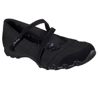 BLACK Skechers Relaxed Fit: Bikers - Get-Up
