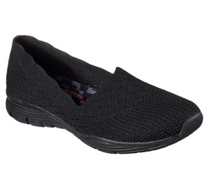 BLACK Skechers Seager - Stat