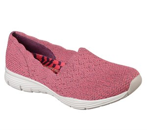 Red Skechers Scallop Collar Slip On