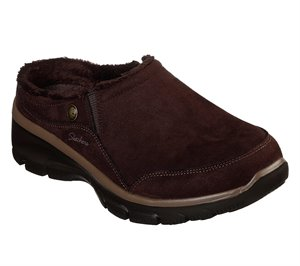 Brown Skechers Relaxed Fit: Easy Going - Latte