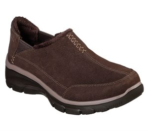 Brown Skechers Relaxed Fit: Easy Going - Hive