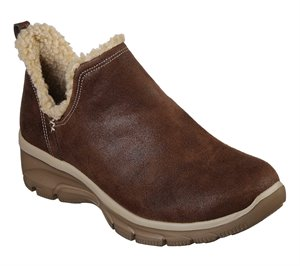 Brown Skechers Relaxed Fit: Easy Going - Buried