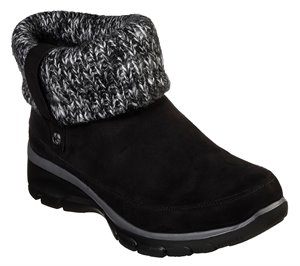 Black Skechers Relaxed Fit: Easy Going - Heighten