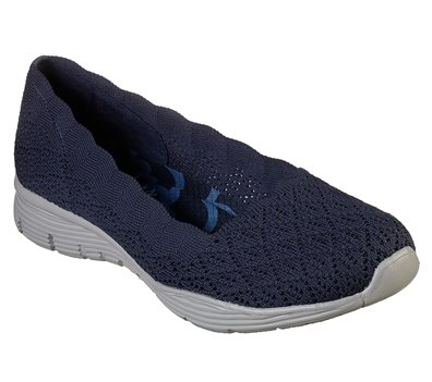 Navy Skechers Seager - Infield