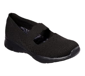 Black Skechers Seager - Power Hitter - FINAL SALE