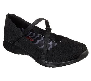 Black Skechers Seager - Strike Out