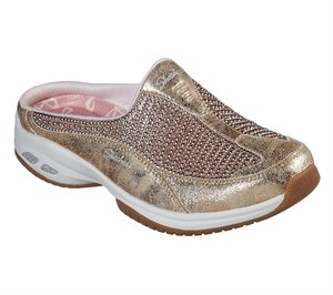 Gold Skechers Relaxed Fit: Commute Time - Happy As A Clam