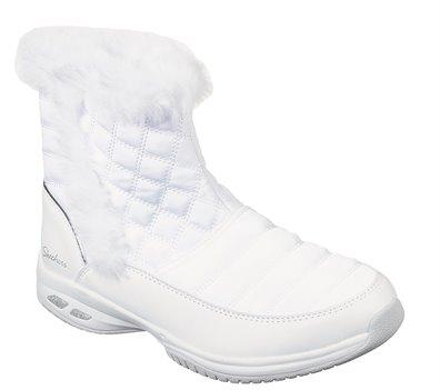 White Skechers Commute Time - Warm Angel