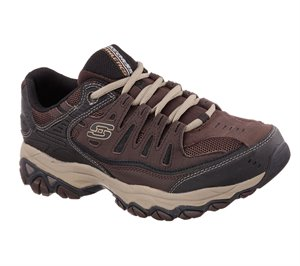 NaturalBrown Skechers After Burn - Memory Fit