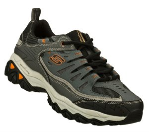 Gray Skechers After Burn - Memory Fit