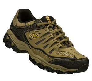 BlackNatural Skechers After Burn - Memory Fit