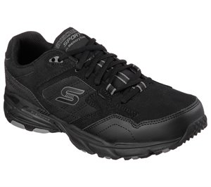 Black Skechers Stamina Plus