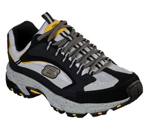 Gray Black Skechers Stamina - Cutback - FINAL SALE